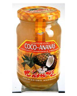 Confiture Extra de Ananas Coco